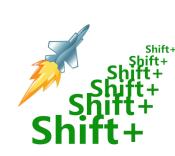 Shift键用法